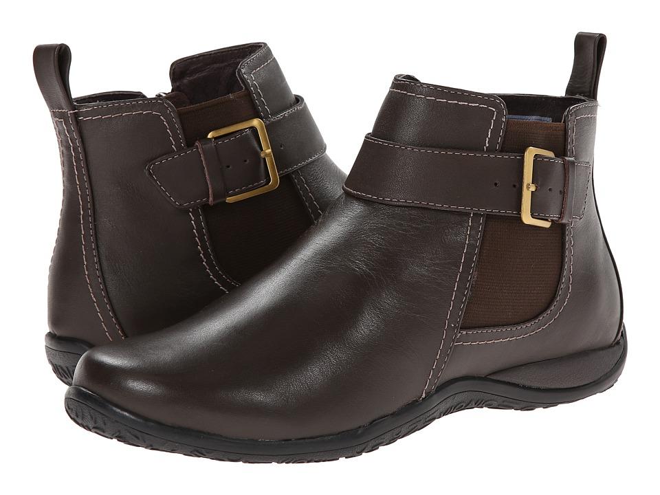 VIONIC Adrie Ankle Boot (Dark Brown) Women