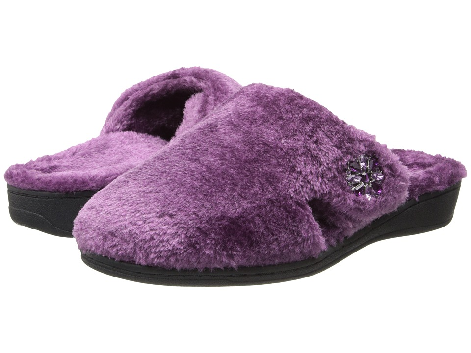 VIONIC - Gemma Luxe Slipper (Plum) Women's Slippers