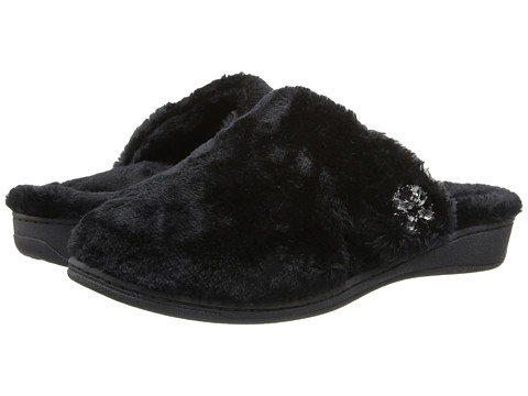 VIONIC - Gemma Luxe Slipper (Black) Women
