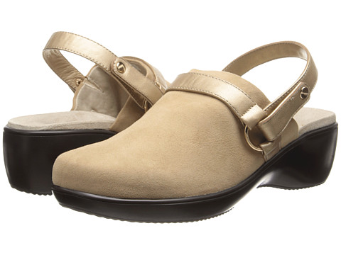 VIONIC with Orthaheel Technology - Adelaide Convertible Clog (Khaki) Women