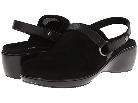 VIONIC with Orthaheel Technology - Adelaide Convertible Clog (Black) Women