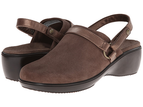 VIONIC with Orthaheel Technology - Adelaide Convertible Clog (Taupe) Women