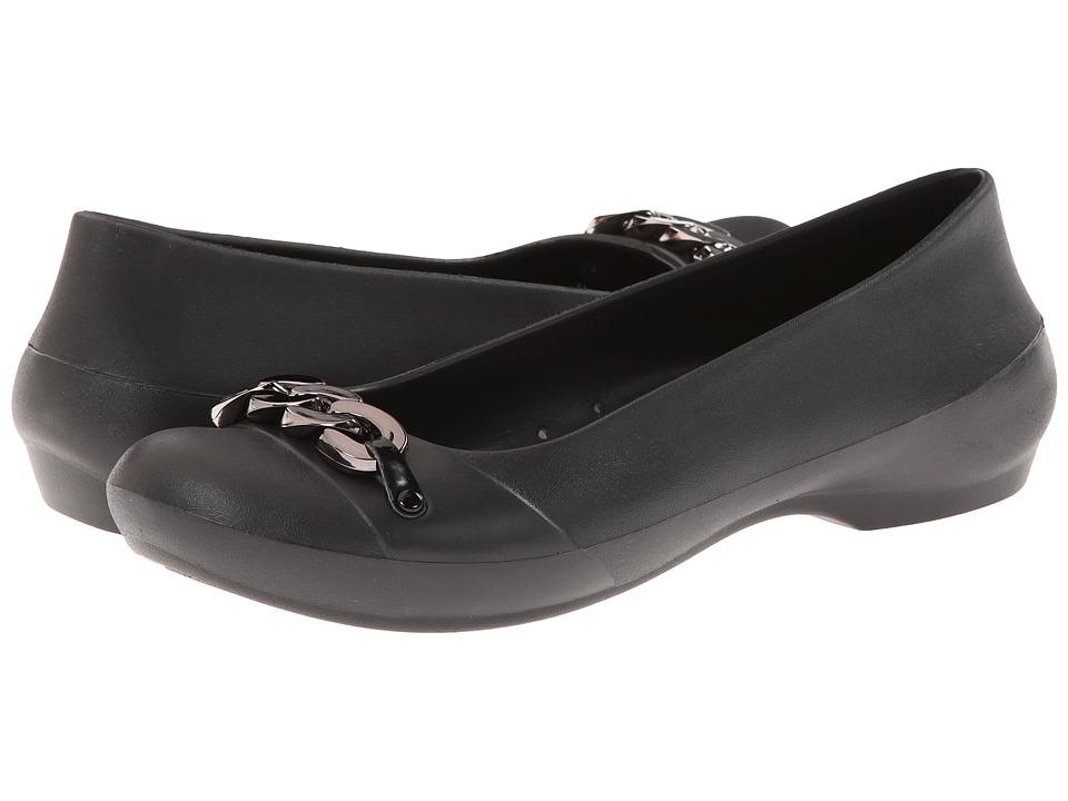 Crocs - Gianna Link (Black/Silver) Women