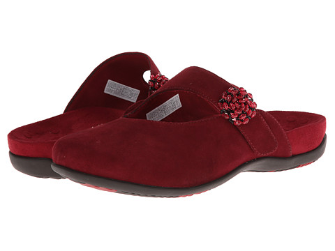 VIONIC - Joan Mary Jane Mule (Merlot) Women's Clog Shoes