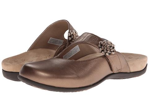 VIONIC - Joan Mary Jane Mule (Bronze Metallic) Women's Clog Shoes