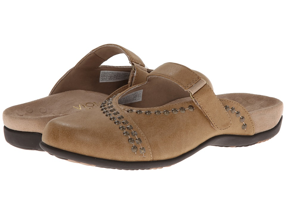 VIONIC - Maisie Mary Jane Mule (Oat) Women's Clog Shoes