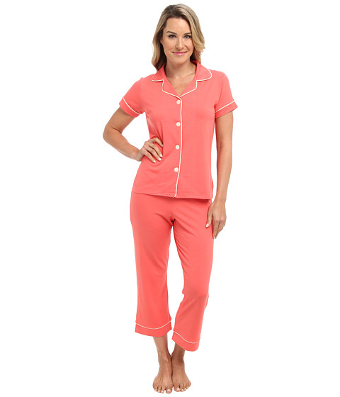 BedHead - Stretch S/S Capri PJ Set (Passion Fruit) Women