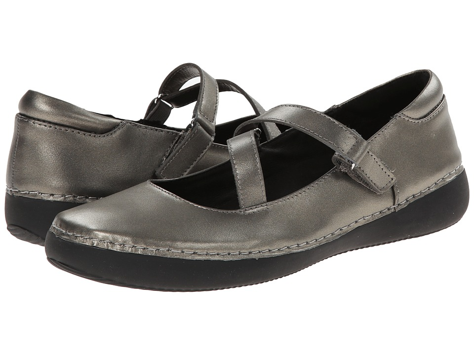 VIONIC - Judith Flat Mary Jane (Pewter) Women