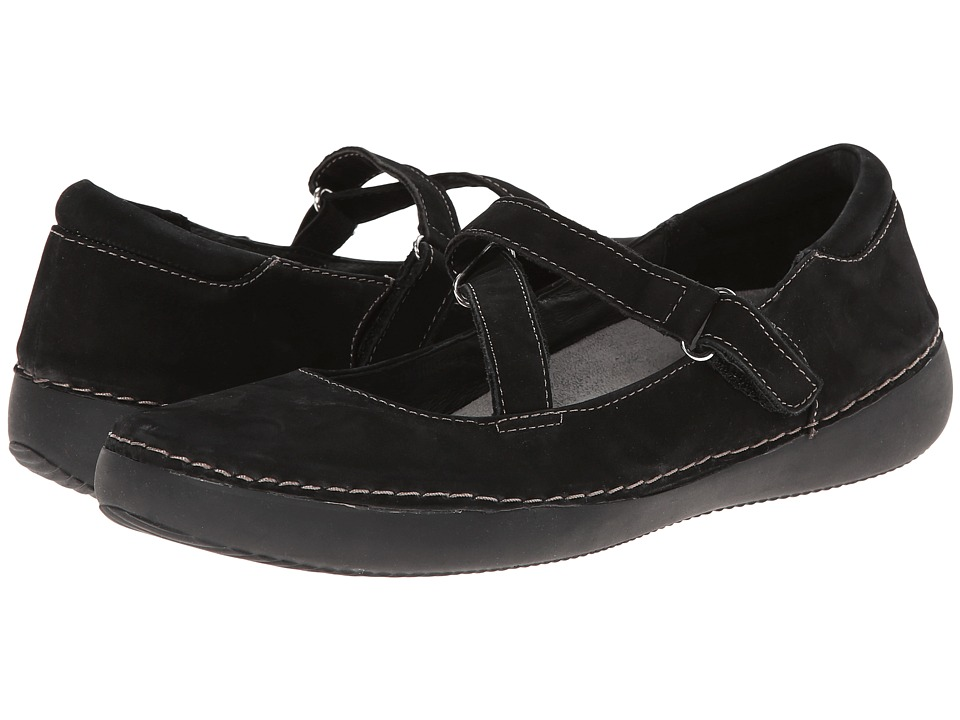 VIONIC - Judith Flat Mary Jane (Black) Women