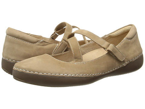 VIONIC with Orthaheel Technology - Judith Flat Mary Jane (Oat) Women's Maryjane Shoes