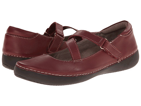 VIONIC with Orthaheel Technology - Judith Flat Mary Jane (Merlot) Women's Maryjane Shoes