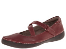 VIONIC with Orthaheel Technology Judith Flat Mary Jane (Merlot)