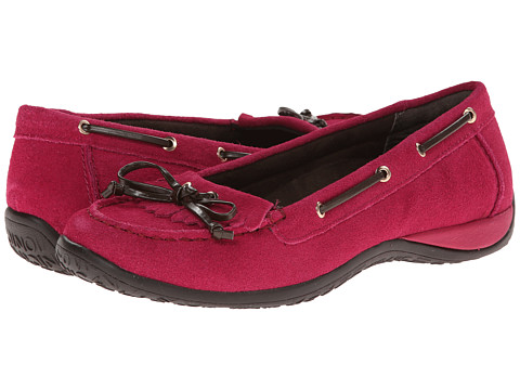 VIONIC with Orthaheel Technology - Petaluma Flat Moccasin (Pink) Women