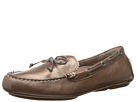 VIONIC with Orthaheel Technology Anchor Flat Moccasin (Bronze Metallic)