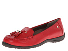 VIONIC with Orthaheel Technology Abbie Flat Loafer (Red)