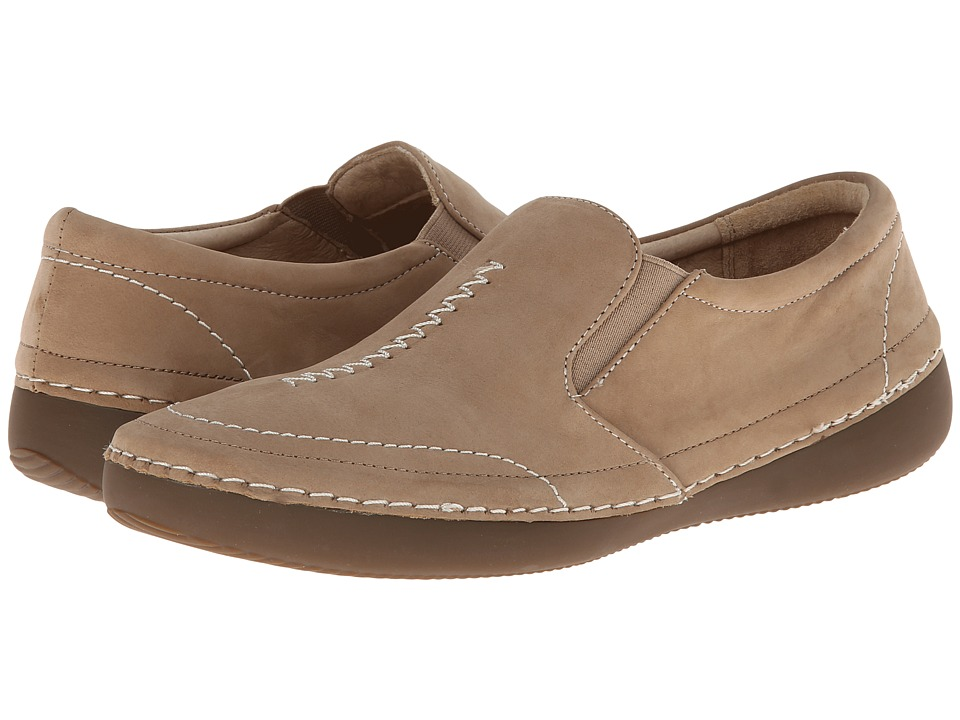 VIONIC - Addison Twin Gore Slip On (Oat) Women's Slip on Shoes