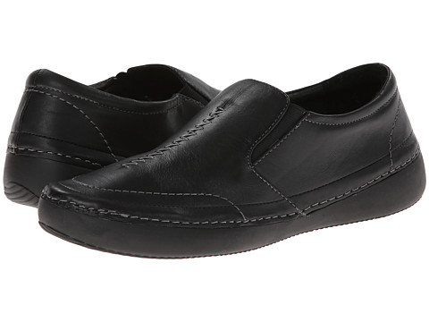 VIONIC - Addison Twin Gore Slip On (Black) Women's Slip on Shoes