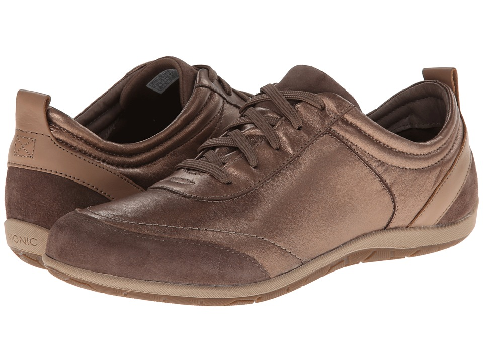 VIONIC - Willa Active Lace Up (Bronze Metallic) Women