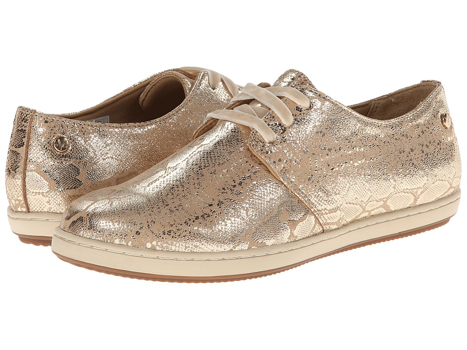 VIONIC - Palermo Active Lace Up (Gold Snake) Women