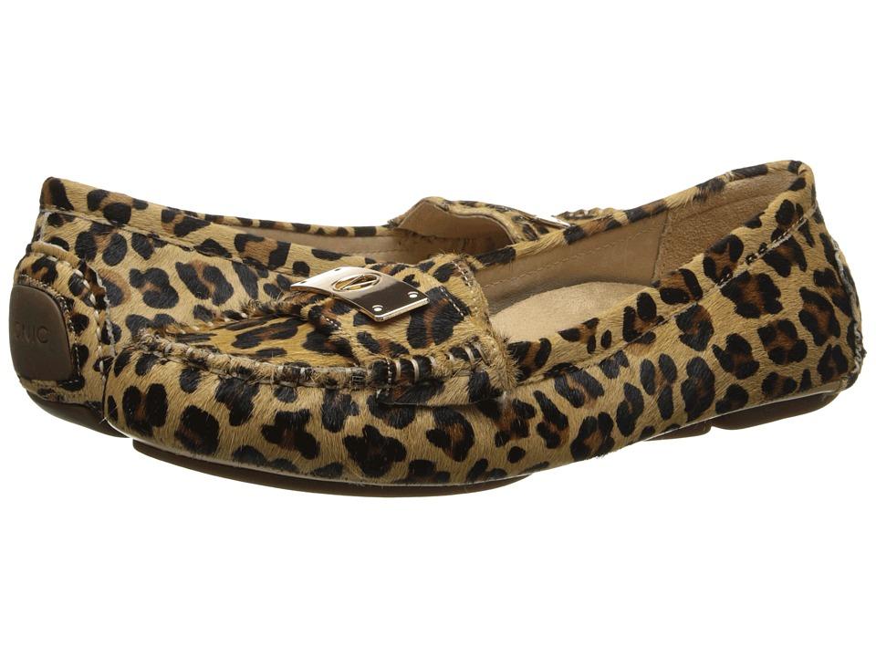 VIONIC Sydney Flat Driver (Tan Leopard) Women