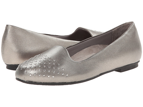 VIONIC with Orthaheel Technology - Bondi Ballet Flat (Pewter) Women's Flat Shoes