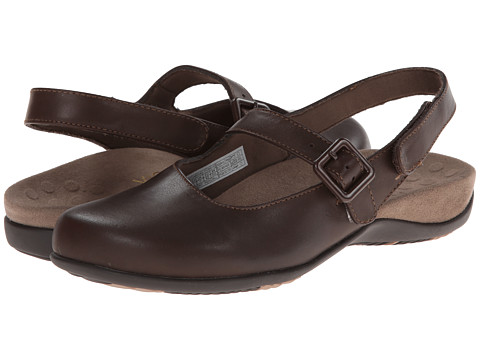 VIONIC with Orthaheel Technology - Abigail Slingback Mule (Espresso) Women
