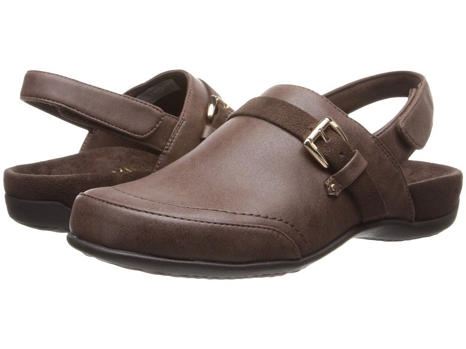 VIONIC - Cairns Slingback Mule (Espresso) Women's Clog Shoes