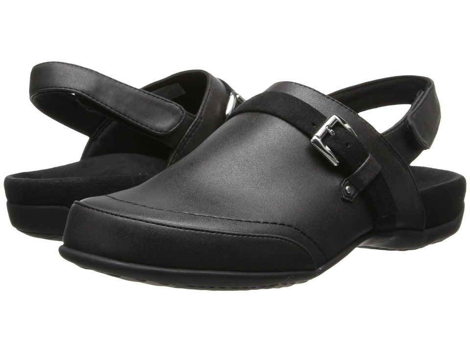 VIONIC - Cairns Slingback Mule (Black) Women's Clog Shoes