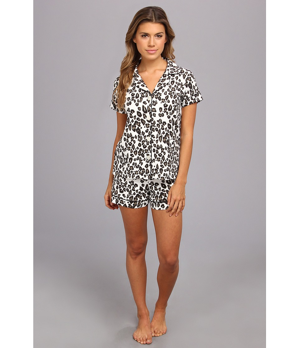 BedHead - Shorty PJ Stretch (Call Of The Wild Ivory) Women