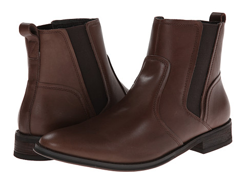 VIONIC with Orthaheel Technology - Declan Boot (Dark Brown) Men's Boots