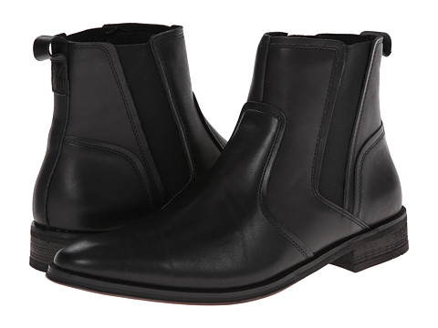 VIONIC with Orthaheel Technology - Declan Boot (Black) Men's Boots