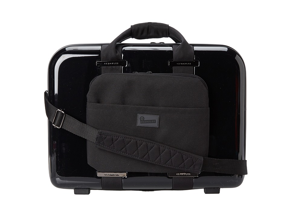 Crumpler - Vis-A-Vis Attach Carry-On Briefcase (Black) Briefcase Bags