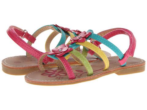 Laura Ashley Kids - LA31081 (Toddler) (Multi Color) Girls Shoes