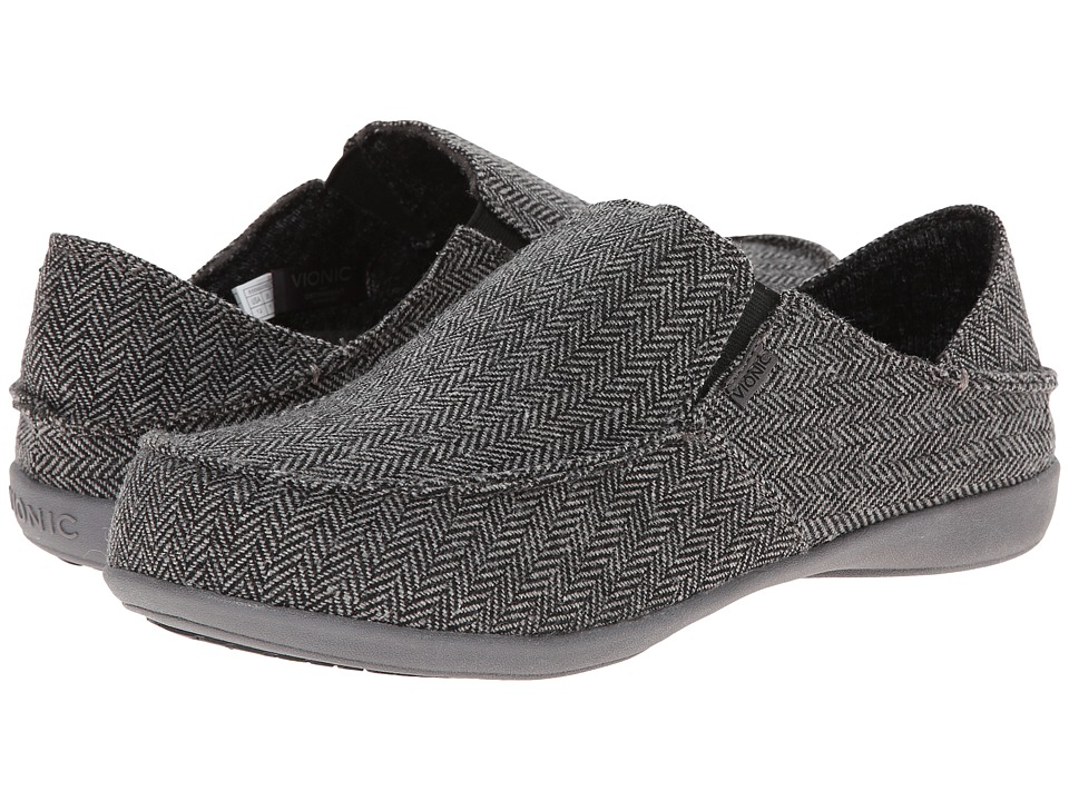 VIONIC - Maxwell (Dark Grey) Men's Shoes