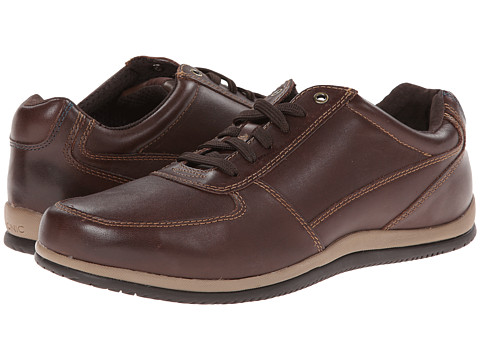 VIONIC with Orthaheel Technology - Branxton (Dark Brown) Men's Shoes