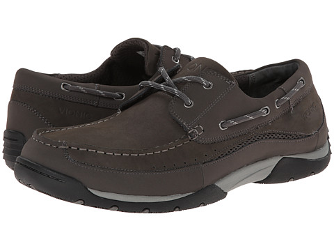 VIONIC with Orthaheel Technology - Eddy (Charcoal) Men's Shoes
