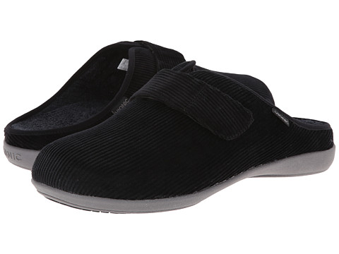 VIONIC with Orthaheel Technology - Glenn Slide (Black) Men's Shoes