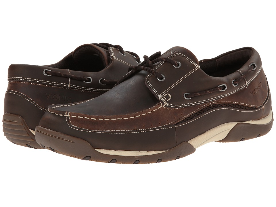 VIONIC - Eddy (Brown) Men's Shoes