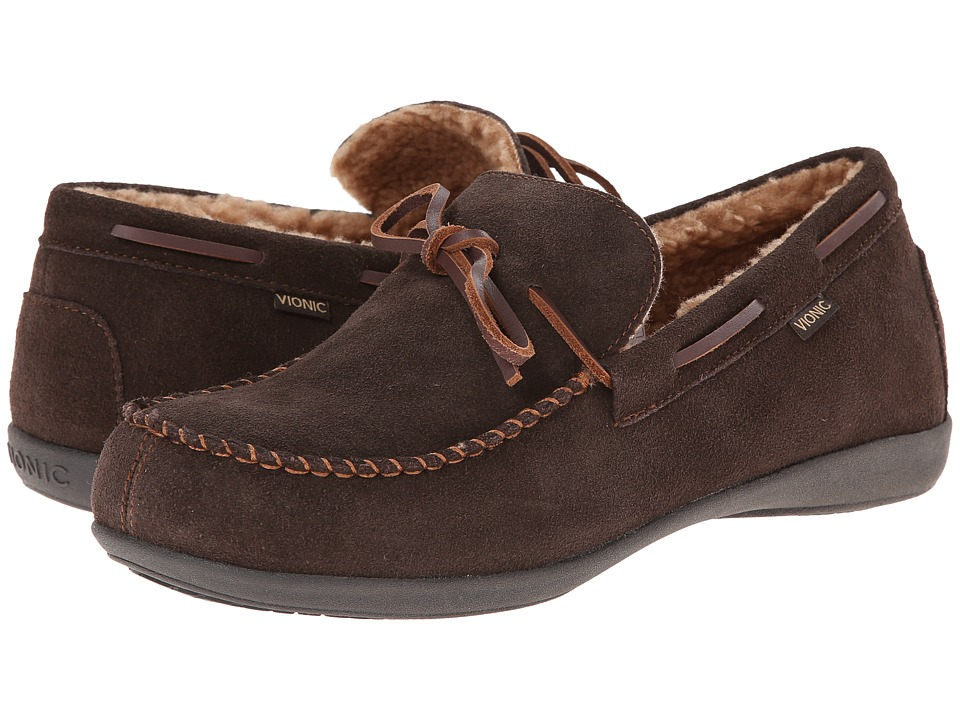 VIONIC - Dewey (Brown) Men's Shoes