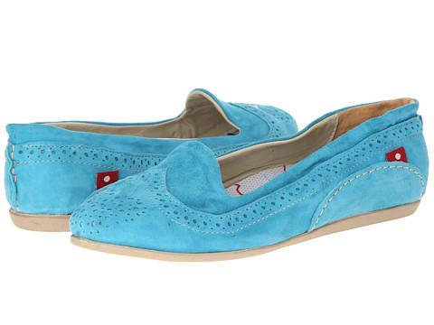 Oliberte - Blanca (Sky Blue Suede) Women's Shoes