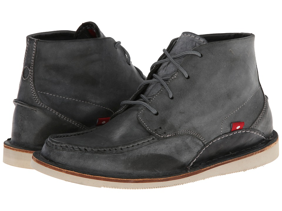 Oliberte - Mogado High (Dark Grey Brushed Wax) Men's Shoes
