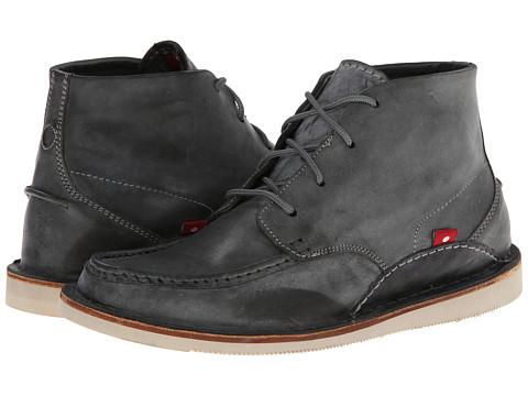 Oliberte - Mogado High (Dark Grey Brushed Wax) Men