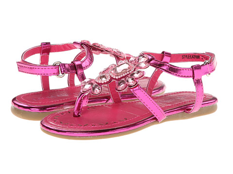 Laura Ashley Kids - LA31099 (Toddler) (Fuchsia Metal) Girls Shoes