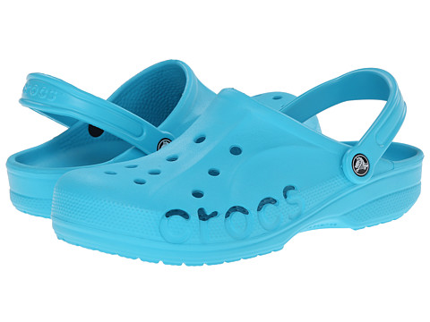 Crocs - Baya (Unisex) (Surf) Slip on Shoes