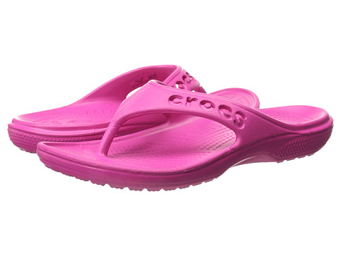 Crocs - Baya Flip (Candy Pink) Sandals