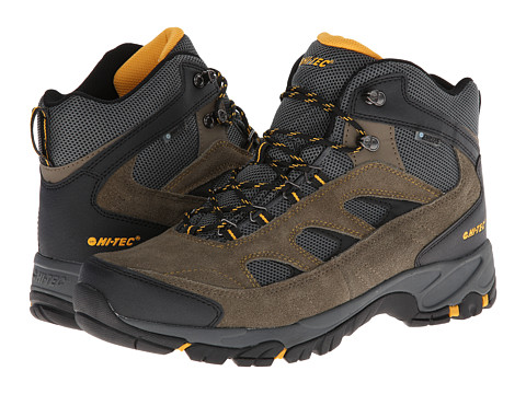 Hi-Tec - Logan WP (Smokey Brown/Core Gold) Men's Hiking Boots