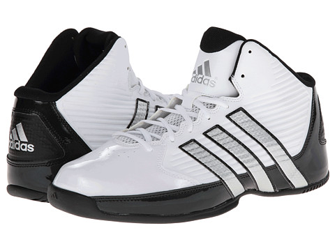 UPC 887383650509 product image for adidas Commander TD 5 (Core White/Silver Metallic/Black) Men's Basketball Shoes | upcitemdb.com