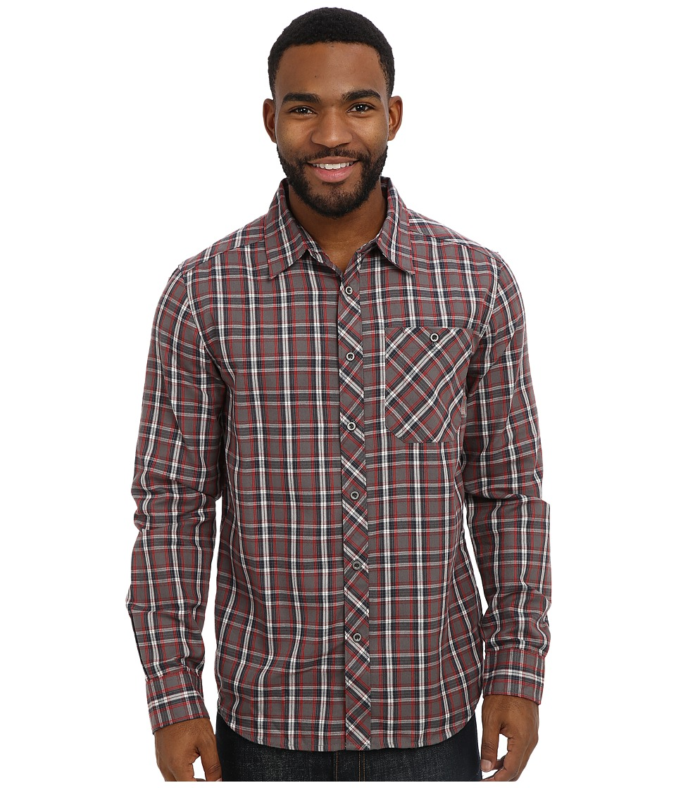 Merrell - Talin L/S (Cerise) Men's Long Sleeve Button Up