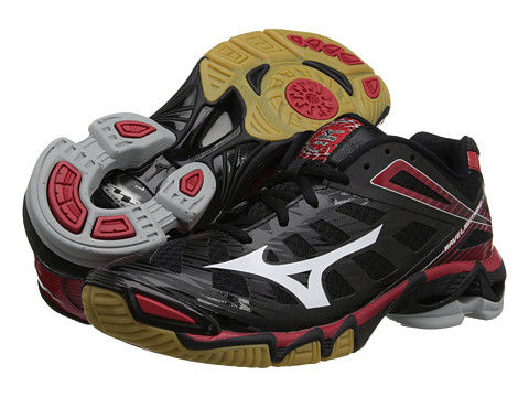 Mizuno - Wave Lightning RX3 (Black/Red) Women