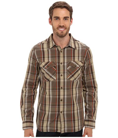 Merrell - Sawyer L/S (Canteen) Men's Long Sleeve Button Up